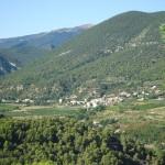 village de Novézan, Drôme Provençale